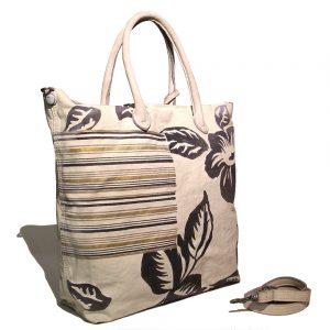Caterina Lucchi Shopper L4155OR beige side