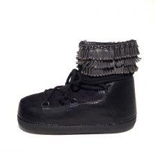 Ikkii Punk Fray Studs low black 1