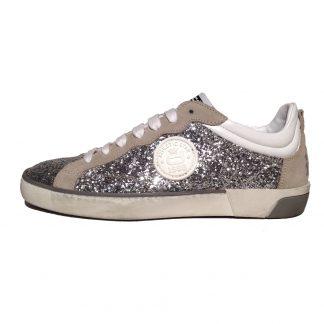 Corvari Sneaker D405 Glitter Argento 1