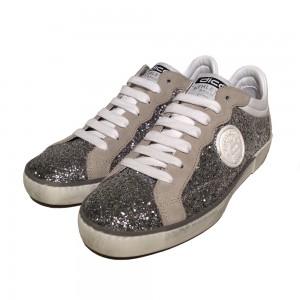 Corvari Sneaker D405 Glitter Argento 3
