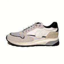 velour mesh bianco Sneaker5