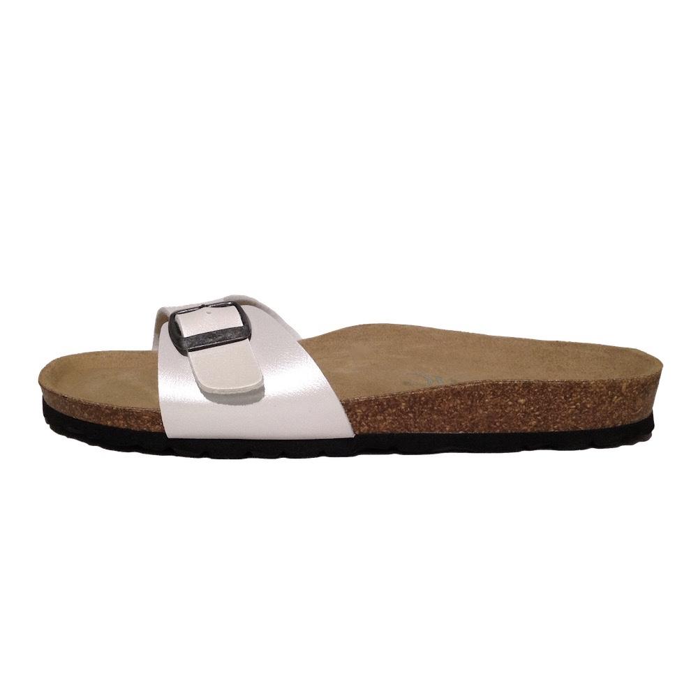 junic sandale mono champ metalized i vegane sandalen mit fu bett ebay. Black Bedroom Furniture Sets. Home Design Ideas
