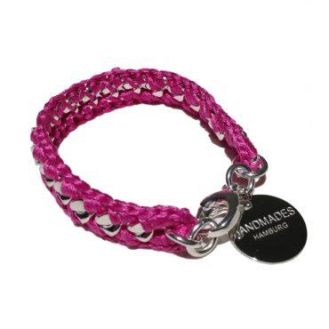 HandmadesHamburg bracelet New York pink 1