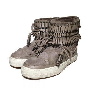 Inuikii Sneaker 23200 Fray Low taupe 1