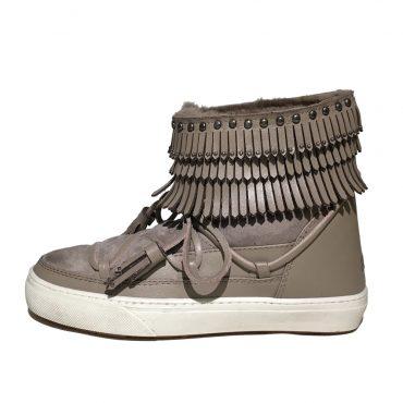 Inuikii Sneaker 23200 Fray Low taupe 2