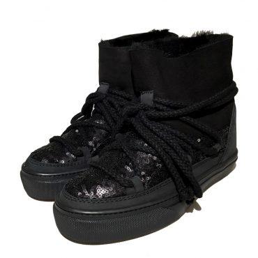 Inuikii Sneaker 23450 Sequin low black