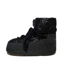 Inuikii boots 20350 sequin low black 1