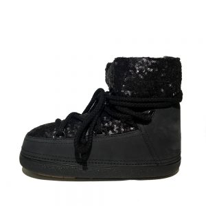 Inuikii boots 20350 sequin low black 1