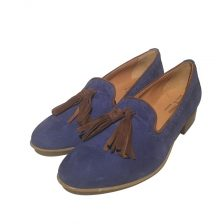 Antica Cuoieria Slipper blue 1