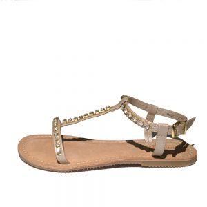 Ilse Jacobsen Hornbaek Sandale gold 1