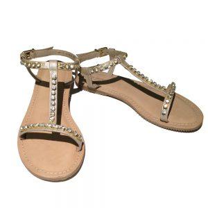 Ilse Jacobsen Hornbaek Sandale gold