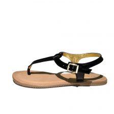 Ilse Jacobsen black Sandale 2