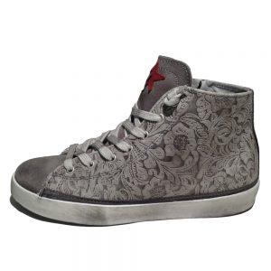 2Star Sneaker 675 Grigio 4