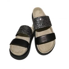 Inuikii Sandale 1030 Black Glitter