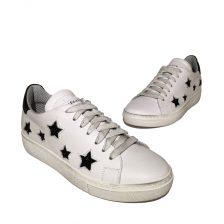 Meline Sneaker bianco weiß Stars 5