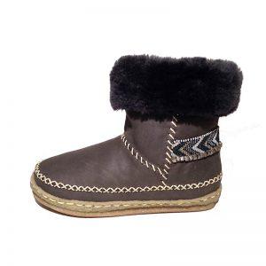 Laidback London Boots Naira Grey 2